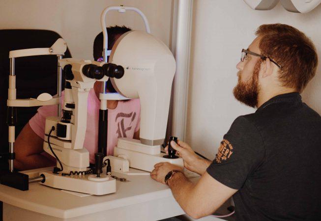 Gero Mayer nutzt den Keratograph 5M