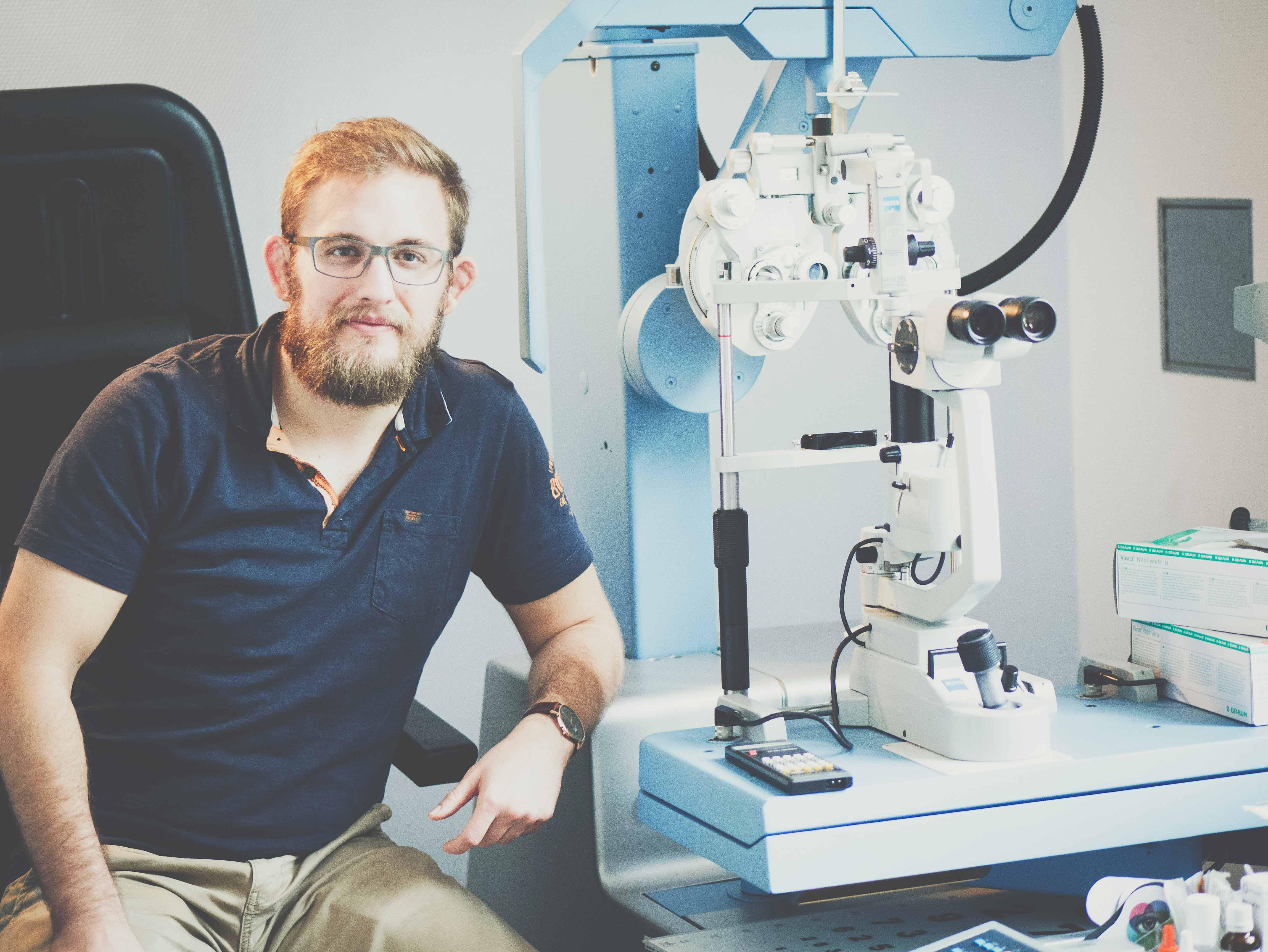 Kontaktlinsensprechstunde mit Gero Mayer