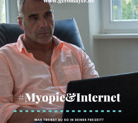 Freizeit, Spiele und die Myopie